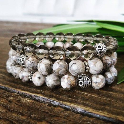maifan stone bracelet set