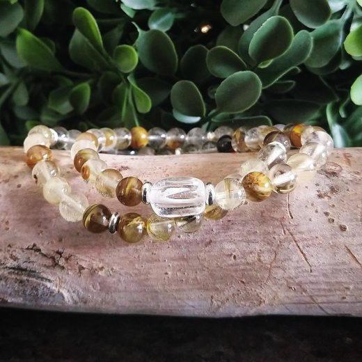 """quartz is known as the """"master healer"""" and will amplify energy and thought, as well as the effect of other crystals."""