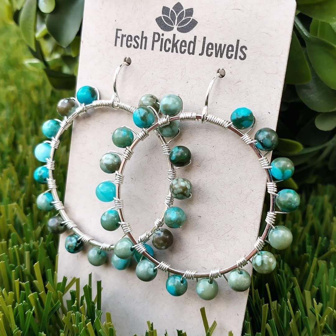 handmade sterling silver earrings