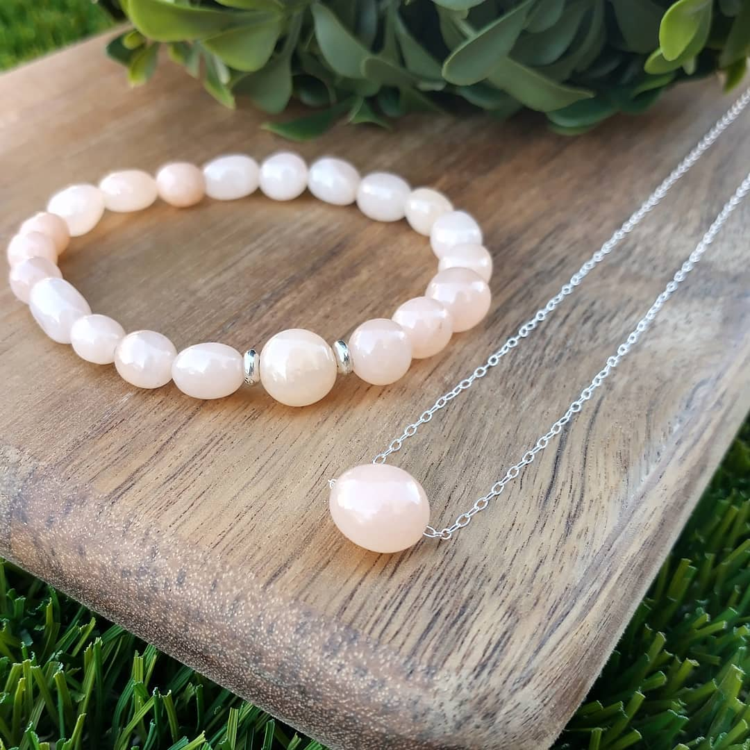 Aventurine Necklace and Bracelet