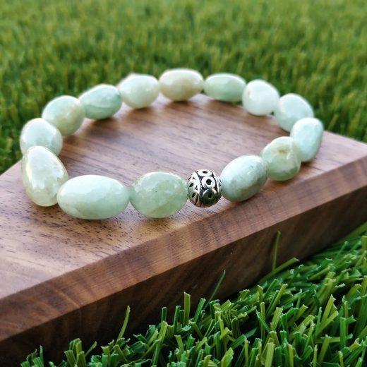 Aquamarine Handmade Bracelet