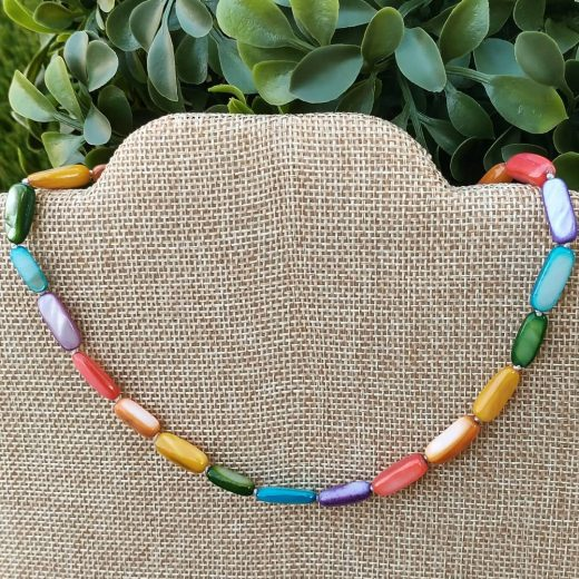 Pride Shell Hand Knotted Choker